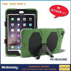 Top quality and cheap wallet case for ipad mini 4