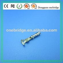 personalizado de cobre hembra coche pines conector terminal