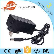 12v 1a eu wall power adapter