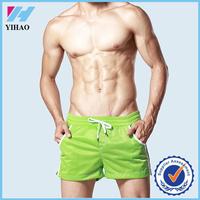 Yihao 2015 best selling mens mesh summer beach shorts wholesale blank board sweat shorts
