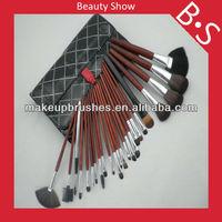 wholesale price 24pcs professional makeup brush gift makeup brush set,hot selling cosmetic brush set,accept OEM