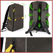 Durable canvas waterproof and shockproof eva camera bag supplier