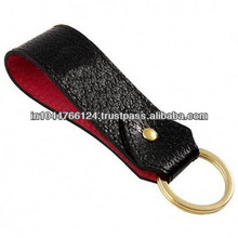 Promotional leather key holder / fashionable key chain / small key case