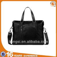 Promotional business briefcase men, classical leather briefcase manufacturer, men's executive briefcase bag
