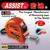 Metric and Inch world ASSIST factory new ABS animal tape measure/stainless steel measuring tape/magentic trena measure