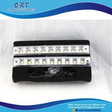 new design car 12v flash led drl light with controller