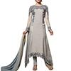 fashionable georgette embroidery patch work pakistani bridal anarkali salwar kameez latest products in market