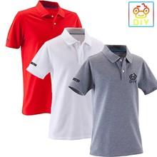 wholesale new design 100% cotton pique white plain high quality men polo t-shirt
