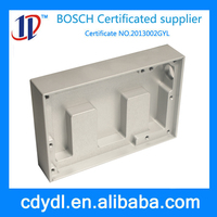 custom central machinery lathe stainless steel fabrication parts for medical product