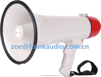 High quality ABS plastic megaphone with serien