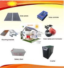 3kw solar panel system price off grid solar power system for home use