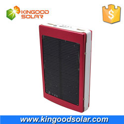 2015 New Product on China Market 30000mAh Power Bank Solar Charger Private Label Allowed with Dual USB output ports
