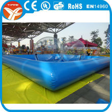 2015 hot sale swimming pool inflatable/inflatable adult swimming pool toy/large plastic swimming pool