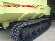 2.0Ton Crawler trailer with cummins engine and A/C for exporting