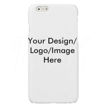 NO MOQ Customized Personalised Photo Picture Text Printed Phone Cases For iPhone6