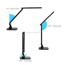Amazon hot selling LED smart desk lamp for USB charging