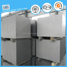 High thermal spreading graphite block for wear resisting material and lubricant