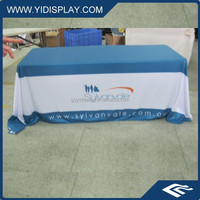 Advertising tulle table cloth