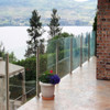 SGC, CCC,CN Certificated 6mm,8mm,10mm,12mm toughened glass balustrade