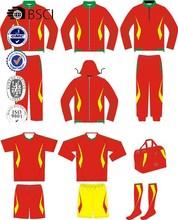 hot sale wholesale new design /custom design soccer kits