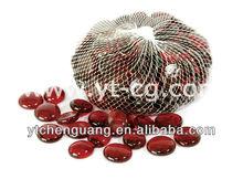 17-19mm ruby red glass gems ,gems stone