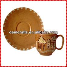 Elegant custom glazed terracotta new year tableware