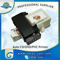 CD DVD Printer Autoloader / CISS Inkjet Printer, Epson r330 Bulk Ink Printer