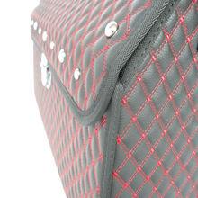 Faux leather 46L foldable Car storage bag