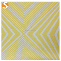 Stripe Rayon Polyester Spandex knit Jacquard Fabric for fashion garment