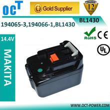 makita 14.4v 3Ah replacement li-ion battery Hello, thanks for adding. Could kindly send your producfor power tools, MAKITA 1430!