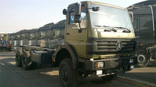 NORTH BENZ New vehicle sales Beiben 6x4 all wheel drive Military Truck