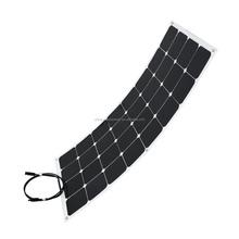 new promotion 80W 100W 120W Semi Flexible Solar Panel
