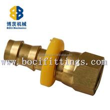 Brass/ White Ferrules 3098