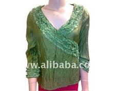 Silk top- women clothes