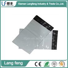 custom wholesale white color Waterproof clear plastic mailing envelope