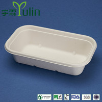 BX-09 050 disposable 100% biodegradable sugarcane food container
