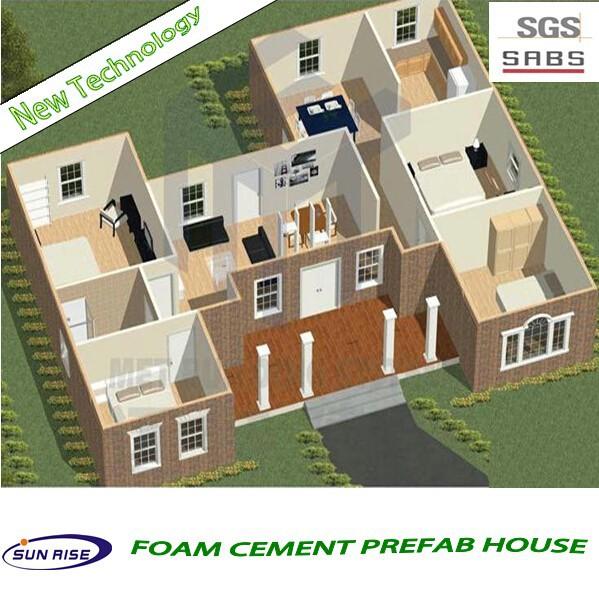 Low Cost 3d Bedroom House Floor Plan For Sale Of Single