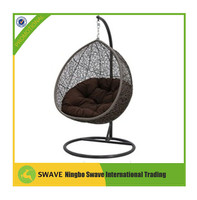 2015 hanging egg chair/rattan furniture egg swing chair,egg chair