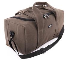 Durabel canvas travel luggage bag big capacity duffel bag mens shoulder sports bag