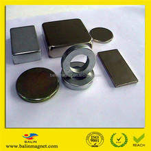 Strong permanent neodymium magnet components