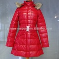 más populares de longitud completa abrigo de cuero