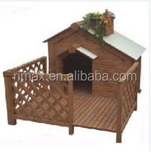 RIMAX Outdoor Indoor Pet House Products Wooden Dog kennel with balcony