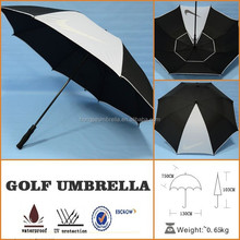 Oversize Large Windproof Canopy Golf 190T nylon umbrella