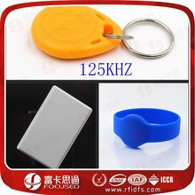 Best Sellers Durable Logo Print 125KHZ RFID Tags/Cards/Wristbands