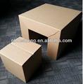 Cor impresso promoção dobrável lidar com papel, papelão cadeira