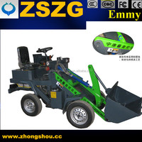 Supply Customized wheel loader without pollution and noisy wheel loader pictures