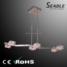 Modern kevin reilly altar cuerda de cáñamo escalera colgante de la lámpara de luz