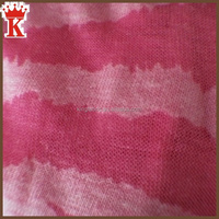 new fashion style polyester cotton burn out jersey fabric