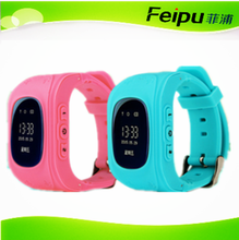 smart wrist watch mobile phone Anti-lost GPS location from Feipu mobile phone