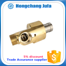 High pressure rotary universal joint flange/ threaded rod ends
